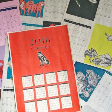 カレンダーの販売について