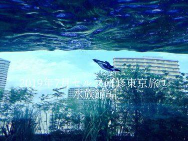2019年7月セルフ研修東京旅①水族館編
